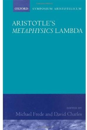 Aristotle's Metaphysics Book Lambda