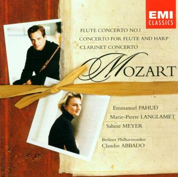 Mozart - Flute Concerto No. 1 · Concerto for Flute and Harp · Clarinet Concerto / Pahud · Langlamet · S. Meyer · Berlin Phil. · Abbado