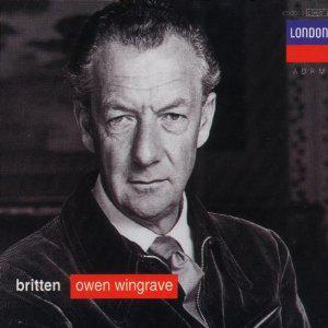Britten: Owen Wingrave; Six Hölderlin fragments; The Poet's Echo