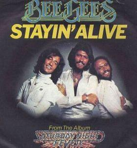 The Bee Gees - staying alive