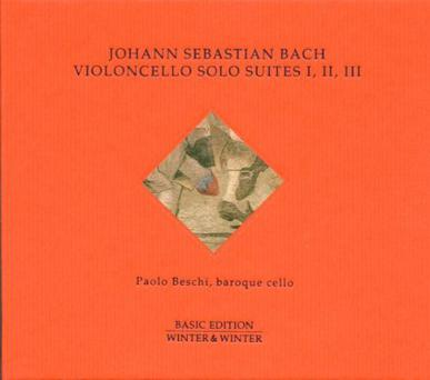 Bach Cello Suites I, II, III
