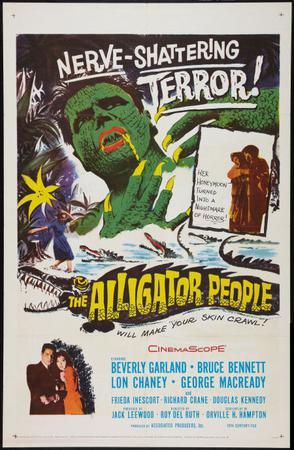 鳄鱼变 The Alligator People 1959