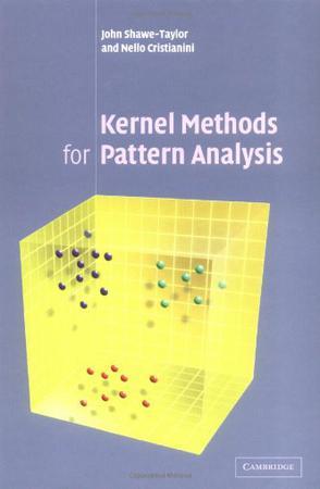 Kernel Methods for Pattern Analysis