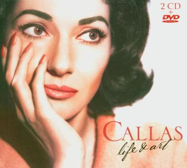 Maria Callas - Life & Art (2 CD's & Bonus DVD)
