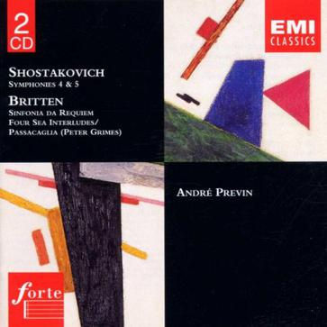 Shostakovich & Britten / Symphonies 4 & 5 / Four Sea Interludes