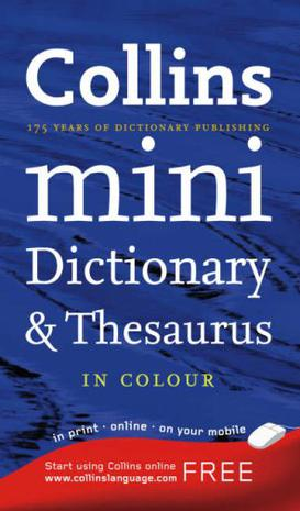 Collins Pocket Dictionary and Thesaurus