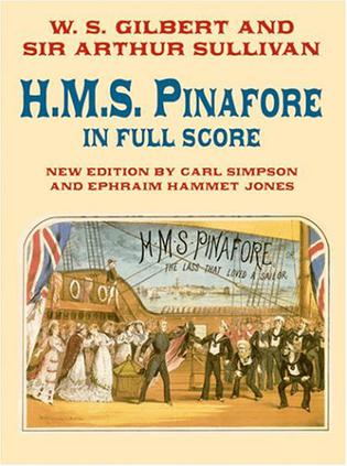《比纳佛》全谱H.M.S. Pinafore in Full Score