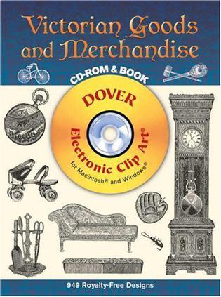 Victorian Goods and Merchandise CD-ROM and Book 维多利亚时代货物和商品