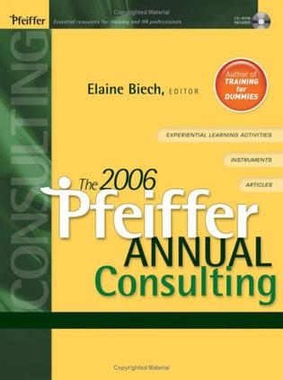 THE 2006 PFEIFFER ANNUAL CONSULTING  2006Pfeiffer手册