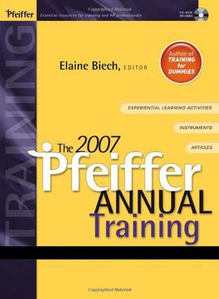 The 2007 Pfeiffer Annual