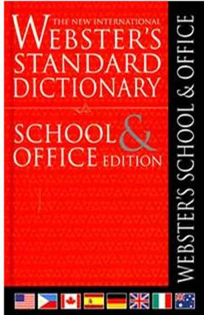 The New International Wester's Standard Dictionary School & Office Edition