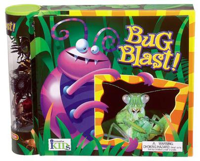 BUG BLAST FACT BOOK CREATURES GAME BOARD Ages 5-12