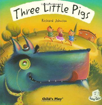 翻翻书 三只小猪Three little pigs