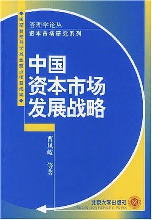 中国资本市场发展战略