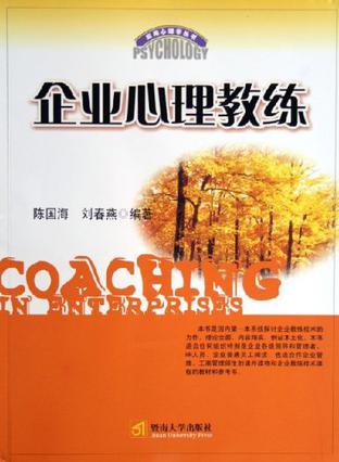企业心理教练