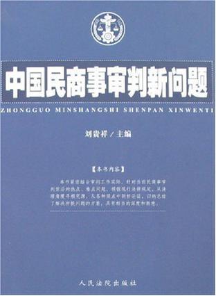 中国民商事审判新问题