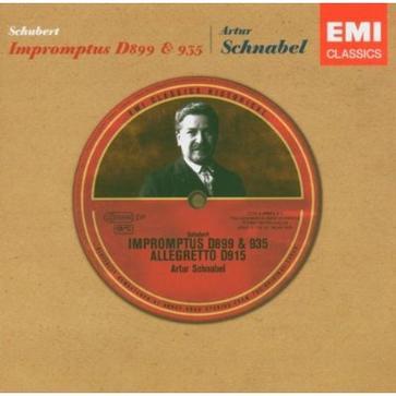 Schubert: Impromptus, D899 & 935