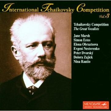 International Tchaikovsky Competition, Vol. 3: The Great Vocalists