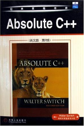 Absolute C++