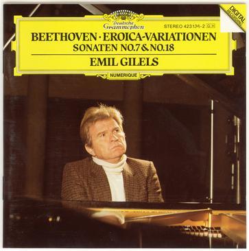 Beethoven: Eroica-Variationen; Sonatas No.7 & 18