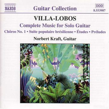 Villa-Lobos: Complete Music for Solo Guitar