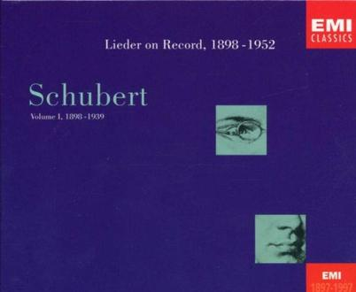 Schubert-Edition (zum 200. Geburtstag): Lieder On Record Vol. 1