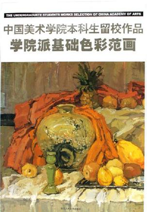 学院派基础色彩范画-中国美术学院本科生留校作品