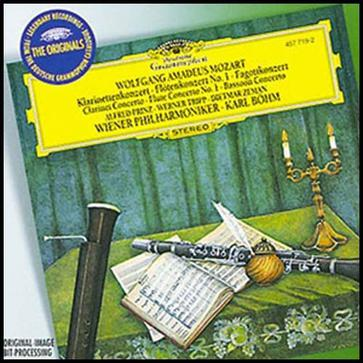 Mozart: Concertos for Clarinet, Flute & Bassoon / Karl Böhm