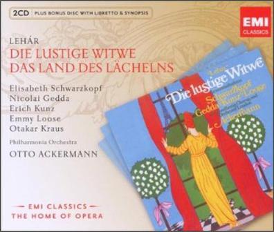 Schwarzkopf - 进口CD:(EMI歌剧帝国)雷哈尔:风流寡妇&微笑之国(45638527)