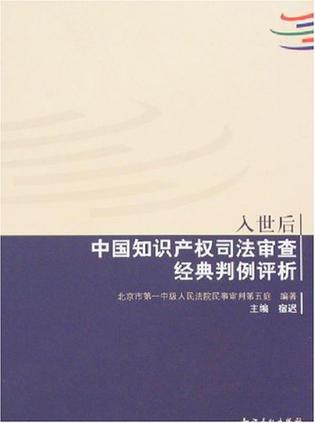 入世后中国知识产权司法审查经典判例评析