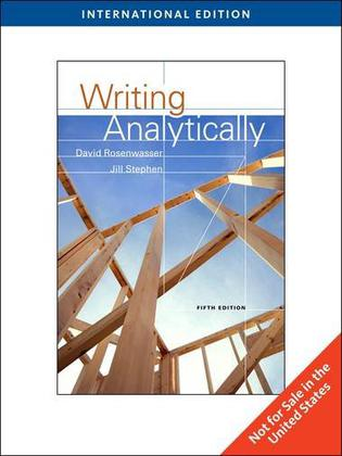 Guide to Writing Analytically