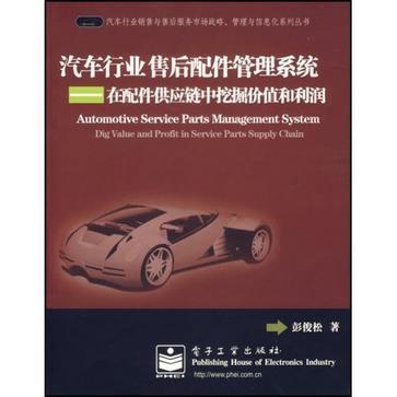 汽车行业售后配件管理系统