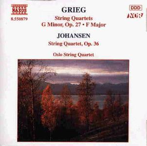 GRIEG: String Quartets Nos. 1 and 2 / JOHANSEN: String Quart