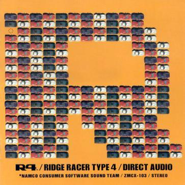 R4/RIDGE RACER TYPE 4/DIRECT AUDIO