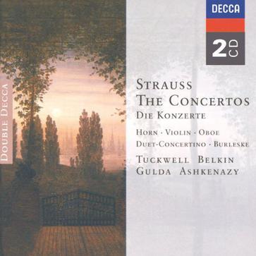 Konzerte von Richard Strauss und F. Strauss
