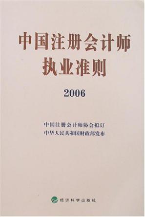 中国注册会计师执业准则2006