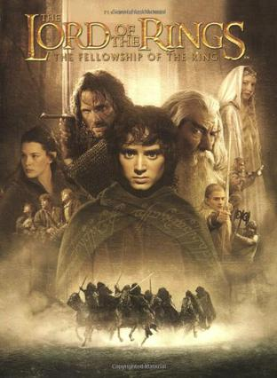 The Fellowship of the Ring Movie Soundtrack Piano, Vocal, and Chords