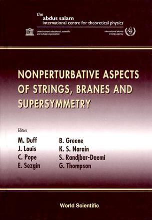 Nonperturbative Aspects of Strings, Branes and Supersymmetry