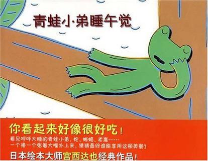 青蛙小弟睡午觉