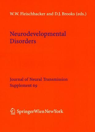 Neurodevelopmental Disorders (Journal of Neural Transmission. Supplementa)