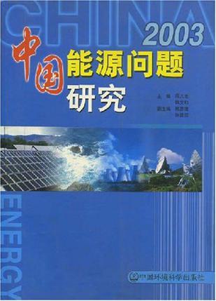 中国能源问题研究2003