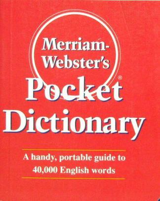 麦林韦氏袖珍词典