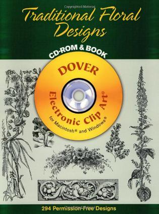 Traditional Floral Designs CD-ROM and Book 传统花卉设计