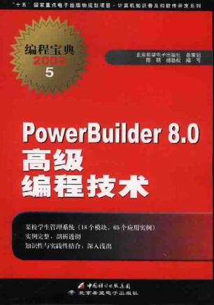 PowerBuilder8.0高级编程技术