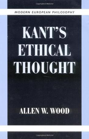 Kant's Ethical Thought