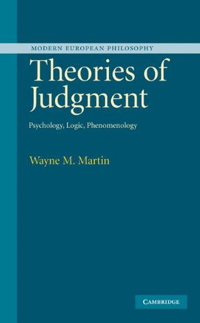 Theories of Judgment