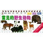 常见的野生动物可爱的家养动物