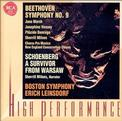 "Beethoven: Symphony No. 9 ""Choral""; Schoenberg: Survivor from Warsaw"