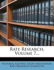 Rate Research, Volume 7...