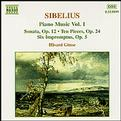 Sibelius - Piano Music, vol.1
